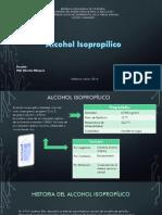 Procesos. Alcohol Isopropilico.