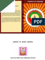 Essence of Hindu Dharma