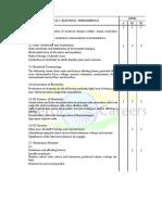 Module 3. Electrical Fundamentals 1