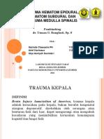 Trauma Cranium Dan Medspin Arief k, Garinda, Ulya