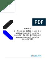 3 - Presupuesto Del Ejercicio Anterior (Opción 2) (D)