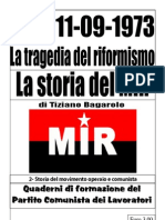 Cile, la tragedia del riformismo