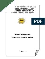 Reglamento Consejo Vigilancia