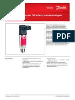 Danfoss Drucksensor-MBS32 33