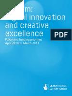 UK Film Council Digital Innovation