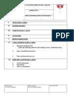 Formulario Para Descripcion de Cargo (1)
