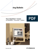 Bulletin- Tracer AdaptiView Control
