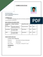 Final Resume - 04-08-17