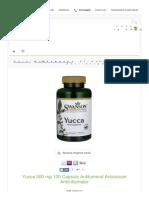 Yucca 500 Mg 100 Capsule Antitumoral Anticancer An