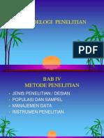 Metodologi penelitian 2 materi 2. Ppt.