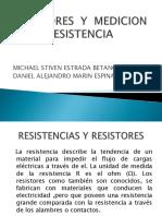 Resistores y Medicion de La Resistencia