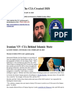 Why the CIA Created ISIS