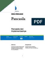 3 KWN Pancasila Dan Implementasinya 2016
