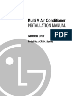 LG VRF Indoor Unit Installation Manual A20280A10hp