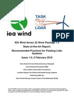 IEA StateOfArtFloatingLIDAR 2Feb2016 v1.0
