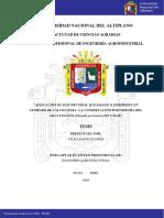 """""""Aplicación de Dos Métodos (Encerado o Inmersión en Cloruro de Calcio) Para La Conservación Poscosecha Del Aguaymanto (Physalis Peruviana) Sin Cáliz"""""""