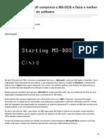 Há 36 Anos Microsoft Comprava o MS-DOS e Fazia o Melhor Acordo Da Indústria Do Software