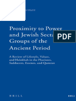 (Brill Reference Library of Judaism 25) Hillel Newman, edited by Ruth Ludlam-Proximity to Power and Jewish Sectarian Groups of the Ancient Period_ A Review of Lifestyle, Values, and Halakha in the Pha.pdf