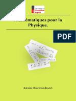 Mathématiques pour la physique (ujf)