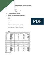Geological Database Sederhana_surpac 6.3