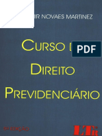 Wladimir Novaes Martinez - Curso de Direito Previdenciário