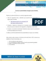 Evidencia 1 Informe de Las Oportunidades de Negocio Para Colombia