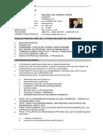 Curriculum Nelson Yegros 03 de Agosto de 2016