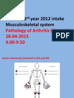 MSK Lecture Dr.ba 2014 15