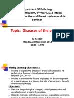 Disease of Prostate Tutorial-Dec-2014