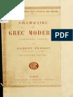 Grammaire du grec moderne_T. 1_Hubert Pernot.pdf
