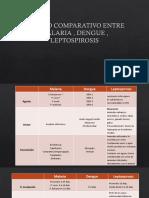 Cuadro Comparativo Entre Malaria , Dengue , Leptospirosis