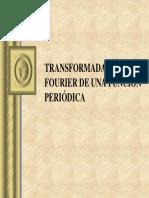 Transformada de Fourier de Una Función Periódica