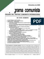 El programa comunista numero 46