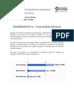 Experimento 9.- Central Hidroeléctrica