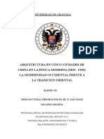 ARQUITECTURA EN CINCO CIUDADES DE LA CHINA EN LA EPOCA MODERNA (1840-1949)