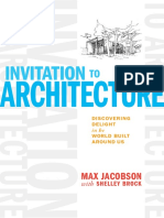 Invitation to Architecture - Discovering Delight (Max Jacobson, Shelley Brock)