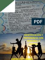 Identificación y Pertenencia Con Personas y Grupos