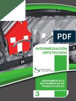 Informe social en intermediaciones hipotecarias