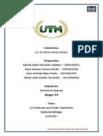 Grupo 4 Empresas Con Servicio de Capacitacion