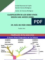 CLASIFICACION DE WOESE