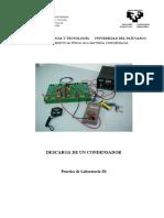 descarga y carga de un condensador