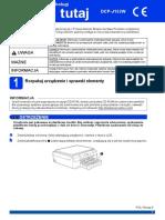 Podręcznik szybkiej obsługi DCP-J152W