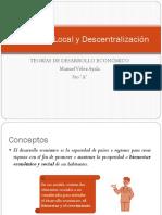 Desarrollo Local y Descentralización