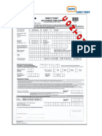 DDA Form Filling-In Guidelines