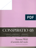 Conspiratio 03 La Nueva Historia de Mouchette, G. Bernanos -Escamilla
