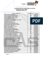 1 Resultado Das Inscrições Em Ordem Alfabetica - Turma Matutino 2ª e 4ª