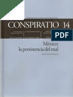 Conspiratio 14 El Burlador Burlado, JM Escamilla en Conspiratio 14