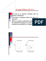 Lecture 6 Kinetic Isotope Effect