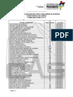 2 Resultado Das Inscrições Em Ordem Alfabetica - Turma Matutino 3ª e 5ª