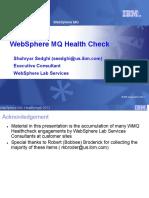 WMQ Services Healthcheck